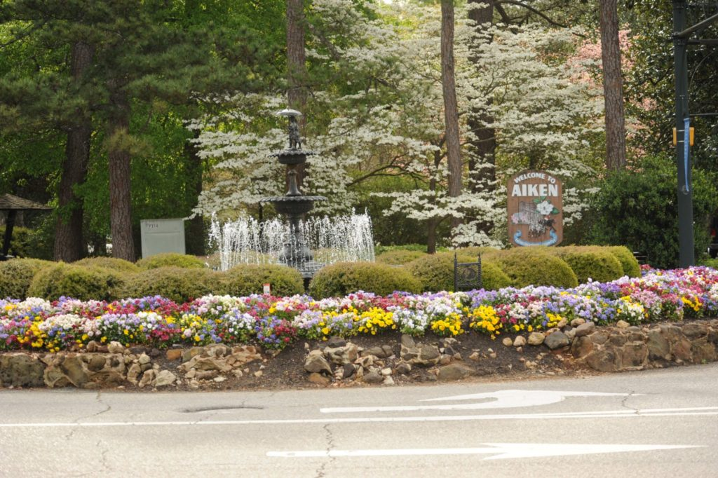 fountain in Downtown Aiken